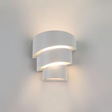 Уличный настенный светодиодный светильник HELIX белый 1535 TECHNO LED