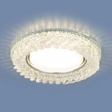 Встраиваемый потолочный светильник со светодиодной подсветкой 3024 GX53 CL прозрачный