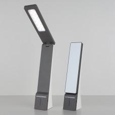 Настольный светодиодный светильник Desk черный/серый