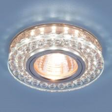 Точечный светодиодный светильник Elektrostandard 8381 MR16 CL/GC прозрачный/тонированный