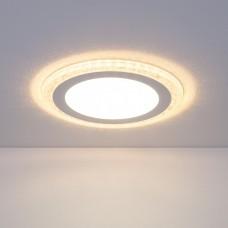 Встраиваемый потолочный светодиодный светильник Elektrostandard DLR024 10W 4200K