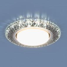 Точечный светильник со светодиодами Elektrostandard 3020 GX53 SB дымчатый