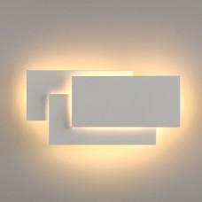 Настенный светодиодный светильник Elektrostandard Inside LED белый матовый (MRL LED 12W 1012 IP20)