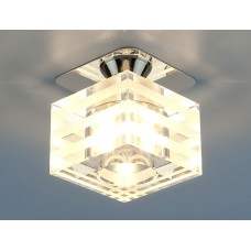 Точечный светильник Elektrostandard 8250 G9 СH/CL хром/прозрачный