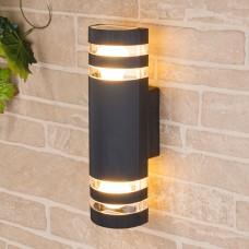 Настенный уличный светильник Elektrostandard Techno 1443 черный