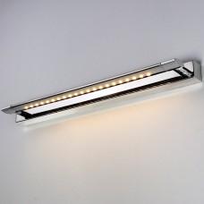 Настенный светодиодный светильник Elektrostandard Twist 5 W хром
