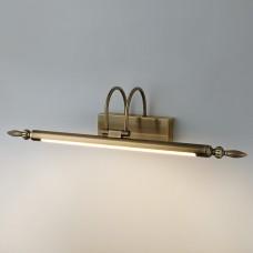 Настенный светодиодный светильник Elektrostandard Rona LED бронза (MRL LED 9W 1016 IP20)