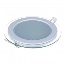 Встраиваемый потолочный светодиодный светильник Elektrostandard DLKR200 18W 4200K белый
