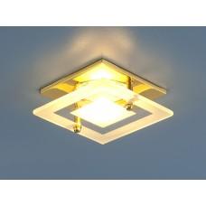 Точечный светильник Elektrostandard 781 MR16 GD/CL золото прозрачный