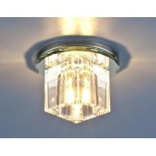 Точечный светильник Elektrostandard 8163 G4 СH/CL хром/прозрачный
