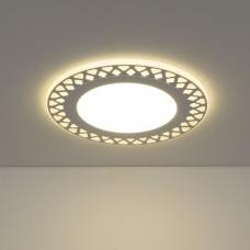 Встраиваемый потолочный светодиодный светильник Elektrostandard DSS003 18W 4200K