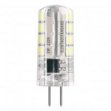 Лампа светодиодная Elektrostandard G4 SMD 3W AC 220V 360° 3300K