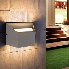 Настенный светильник Elektrostandard 1615 Techno LED Ofion Double алмазный серый