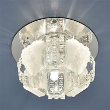 Точечный светильник Elektrostandard 833 G4 CH/CL хром/прозрачный