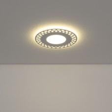 Встраиваемый потолочный светодиодный светильник Elektrostandard DSS003 6W 4200K