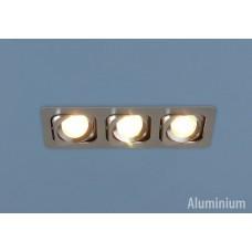 Алюминиевый точечный светильник Elektrostandard 1021/3 MR16 CH хром