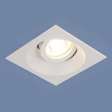Встраиваемый алюминиевый точечный светильник 6069 MR16 WH белый