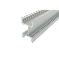 Профиль накладной алюминиевый LC-LPF-2716-2 Anod