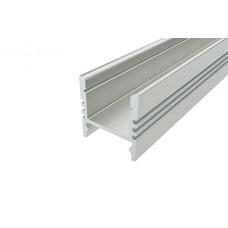 Профиль накладной алюминиевый LC-LPS-1716-2 Anod