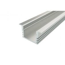 Профиль врезной алюминиевый LC-LPV-1222-2 Anod