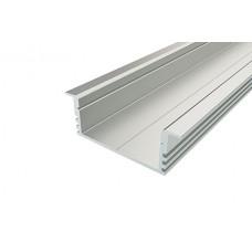 Профиль врезной широкий алюминиевый LC-LPV-1234-2 Anod