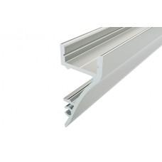 Профиль накладной алюминиевый для стен LC-NS-1636-2 Anod