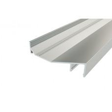 Профиль накладной алюминиевый для карниза LC-LPK-1675-2 Anod