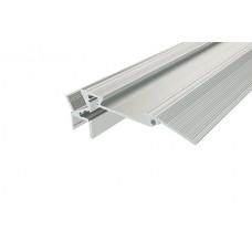 Профиль алюминиевый для ступеней с резиновой вставкой LC-PDS-2879-2 Anod