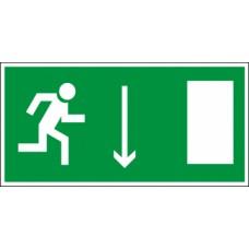Светодиодный аварийный светильник LC-SIP-E19-3015 Указатель двери (правосторонний) 300х150 мм.