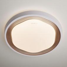 Управляемый накладной светодиодный светильник 40005/1 LED кофе